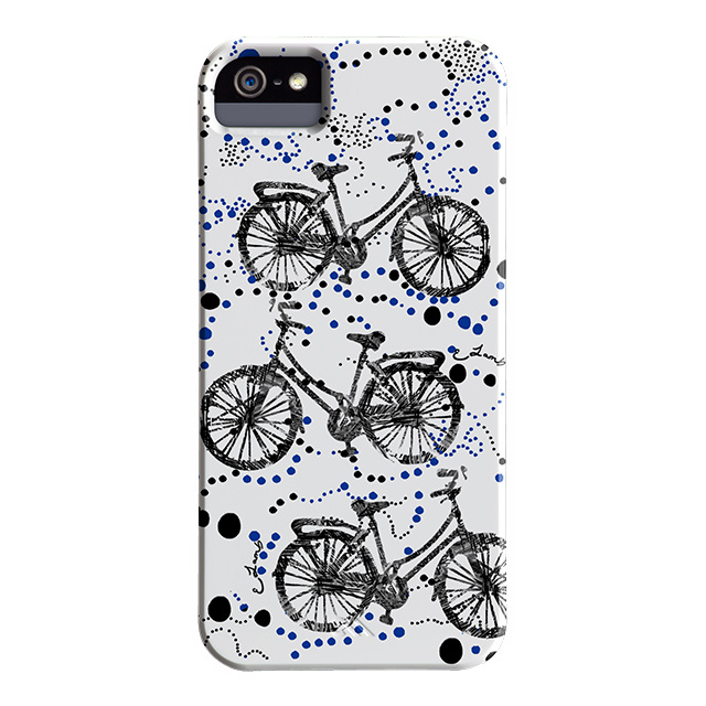 【iPhoneSE(第1世代)/5s/5 ケース】DESIGNER PRINTS Barely There Case, Elizabeth Lamb Afternoon Ride