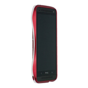 【HTC J One ケース】CLEAVE ALUMINUM BUMPER(FLARE RED)