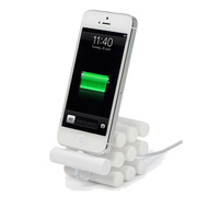 Apple iPhone, iPod Touch, iPod 用 Versa Dock Silinda, White