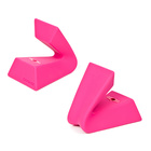 Apple iPhone, iPod Touch, iPod 用 Versa Dock Wave, Pink