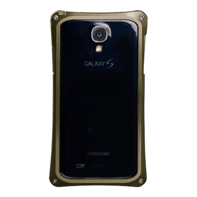 9501cff79f ... 【GALAXY S4 ケース】GX01アルミジャケットバンパー(ゴールド) ...