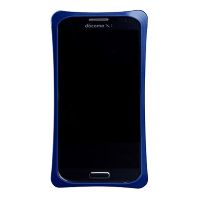 483f20ab20 ... 【GALAXY S4 ケース】GX01アルミジャケットバンパー(ブルー) ...