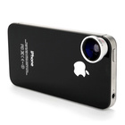 【自撮りレンズ】Wide & Macro Lens for iPhone4S&4