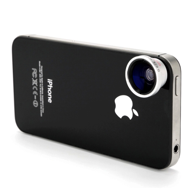 Wide & Macro Lens for iPhone4S&4