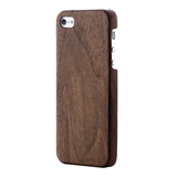 【iPhoneSE/5s/5 ケース】SuperThin Case Walnut