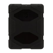【iPad(第3世代/第4世代) iPad2 ケース】Survivor for iPad 2 3rd 4th-BlackBlackBlack GB35108