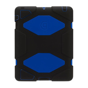 【iPad(第3世代/第4世代) iPad2 ケース】Survivor for iPad 2 3rd 4th-BLK BLU BLK GB35380-2