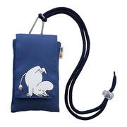 Moomin Mobile Pouch ムーミン Blue