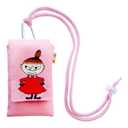 Moomin Mobile Pouch リトルミイ Pink
