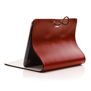 【iPad mini(初代) ケース】Leather Arc Cover Claret