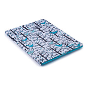 【iPad(第3世代/第4世代) iPad2 ケース】gen FitFolio[LoveBirds Teal]