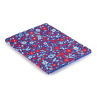 【iPad(第3世代/第4世代) iPad2 ケース】gen FitFolio[BitsyFloral Blue/Red]