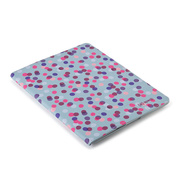 【iPad(第3世代/第4世代) iPad2 ケース】gen FitFolio[SprinkleTwinkle Grey/Pink]
