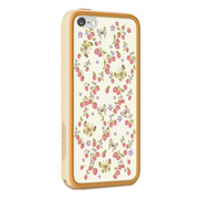 【iPhone5c ケース】POPTUNE with FRAME for iPhone5c Berry & Butterfly