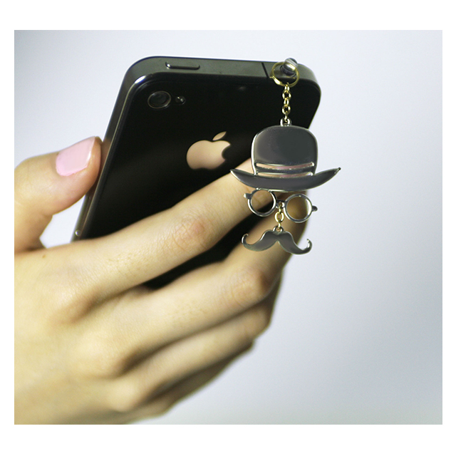 "iCharm Earphonejack Accessory ""Gentleman""ブラックサブ画像"