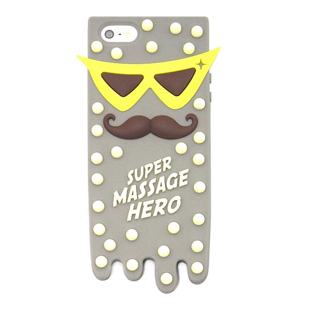 【iPhone5s/5 ケース】MASSAGE HERO GRAY
