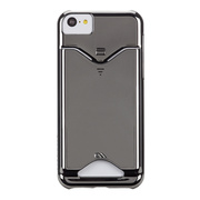 【iPhone5c ケース】Barely There Case, Chrome/カードホルダー付き