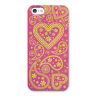 【iPhoneSE/5s/5 ケース】Paisley ピンク