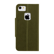【iPhone5c ケース】Slim Folio Case, Olive