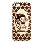 【iPhoneSE/5s/5 ケース】Hawaiian He'enalu wood