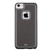 【iPhone5c ケース】Sleek Barely There Case, Silver