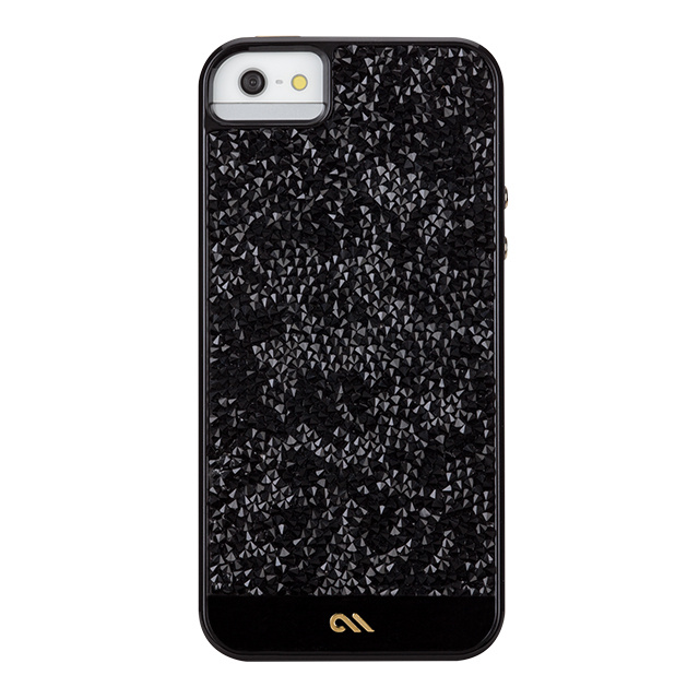 【iPhoneSE(第1世代)/5s/5 ケース】Crafted Case Brilliance Black
