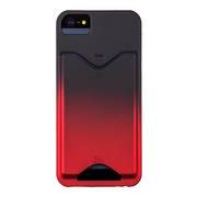 【iPhoneSE/5s/5 ケース】Barely There ID Case Royal Red