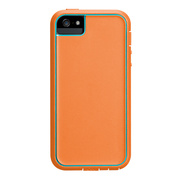 【iPhoneSE/5s/5 ケース】Tough Xtreme (Orange/Teal/Yellow)