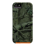【iPhoneSE/5s/5 ケース】Tough Mossy Oak New Break Up Infinity Orange