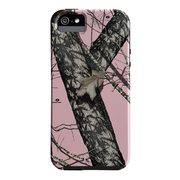 【iPhoneSE(第1世代)/5s/5 ケース】Tough Mossy Oak Pink Break Up Black