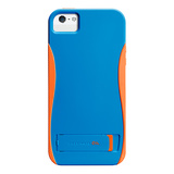 【iPhoneSE/5s/5 ケース】POP! with Stand Case (Blue/Tangerine)