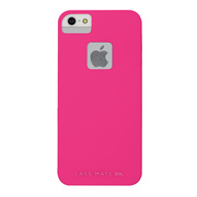 【iPhoneSE/5s/5 ケース】Barely There Zero (Lipstick Pink)
