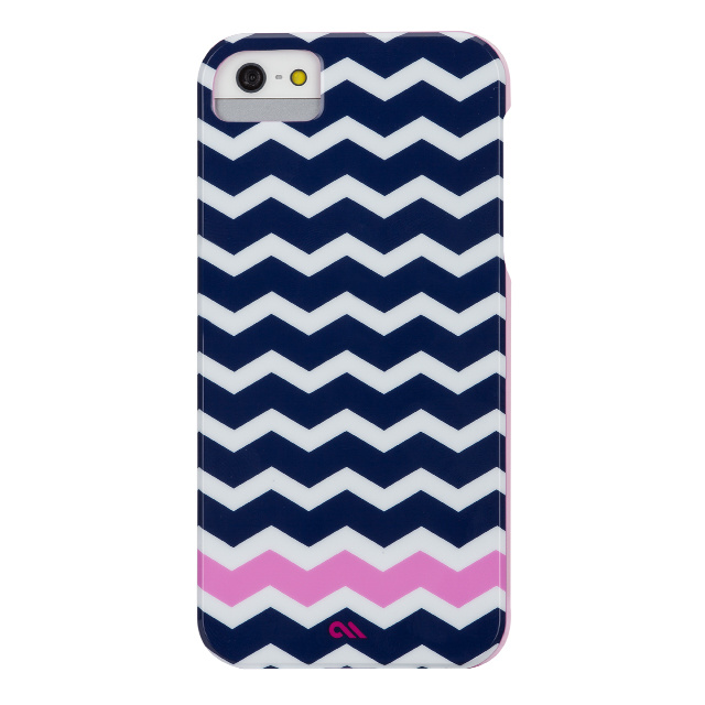 【iPhoneSE(第1世代)/5s/5 ケース】Barely There Prints (Ziggy Zag)