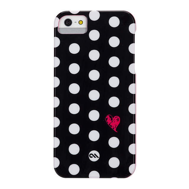 【iPhoneSE/5s/5 ケース】Barely There Prints (Polka Love)