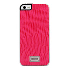 【iPhoneSE/5s/5 ケース】Classique Snap Case Leather (Lizard Pink)【レザー】