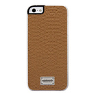 【iPhoneSE/5s/5 ケース】Classique Snap Case Leather Lizard Tan