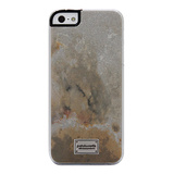 【iPhoneSE/5s/5 ケース】Classique Snap Case Stone Slate Marble