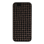 【iPhoneSE/5s/5 ケース】Metal case (Bronze Net)