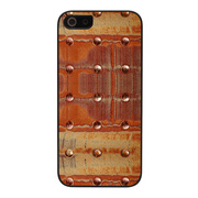 【iPhoneSE/5s/5 ケース】Metal case (Bronze Dot)