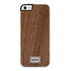 【iPhoneSE/5s/5 ケース】Classique Snap Case Hoxan Wood Walnut