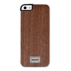 【iPhoneSE/5s/5 ケース】Classique Snap Case Hoxan Wood Sapele