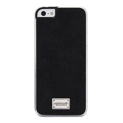 【iPhoneSE/5s/5 ケース】Classique Snap Case Ultra Suede Black