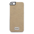 【iPhoneSE/5s/5 ケース】Classique Snap Case Ultra Suede Tan