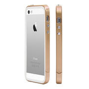 【iPhoneSE(第1世代)/5s/5 ケース】B1X Bumper Full Protection (Champagne Gold)