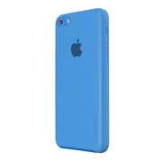 【iPhone5c ケース】Color Shell Case Blue