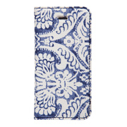 【iPhoneSE/5s/5 ケース】Denim Paisley...