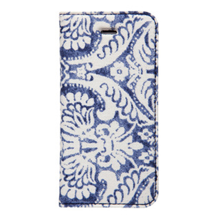 iPhoneSE/5s/5 ケース Denim Paisley Diary