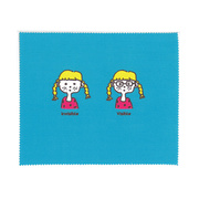 Microfiber Cloth GLASSES GIRL