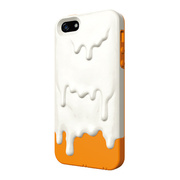 【iPhone5s/5 ケース】Melt Marshmallow White