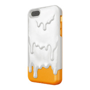 【iPhone5c ケース】Melt Marshmallow White